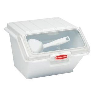 Rubbermaid - 9G6000 WHT - ProSave 40 Cup Ingredient Bin