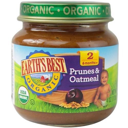 Earth's Best - Organic Prunes & Oatmeal ( 12 - 4 OZ)