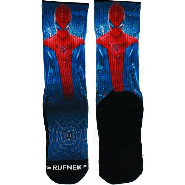 Rufnek Battle Spidey Men's Socks