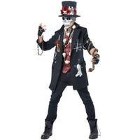 California Costumes Voodoo Dude Adult Costume - Black