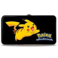 Pokmon Pikachu Attack Pose2 Hinged Wallet - One Size Fits most