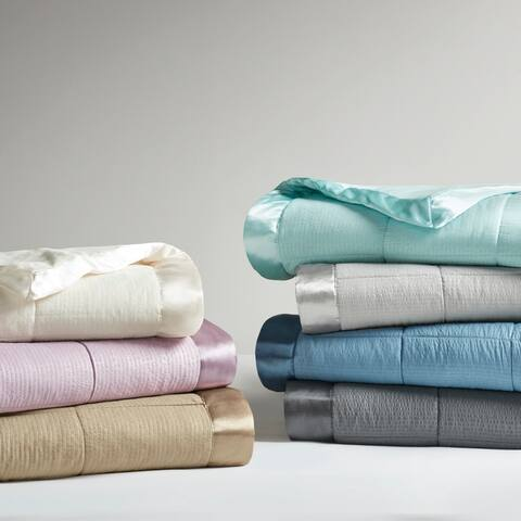 Madison Park Parkman Oversized Down Alternative Blanket