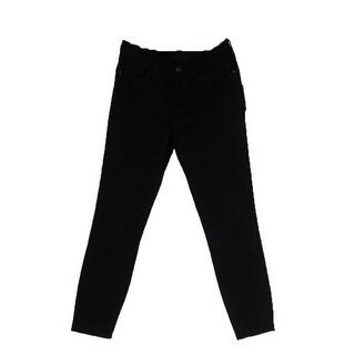 Tommy Hilfiger Black Greenwich Cropped Midrise Jeans