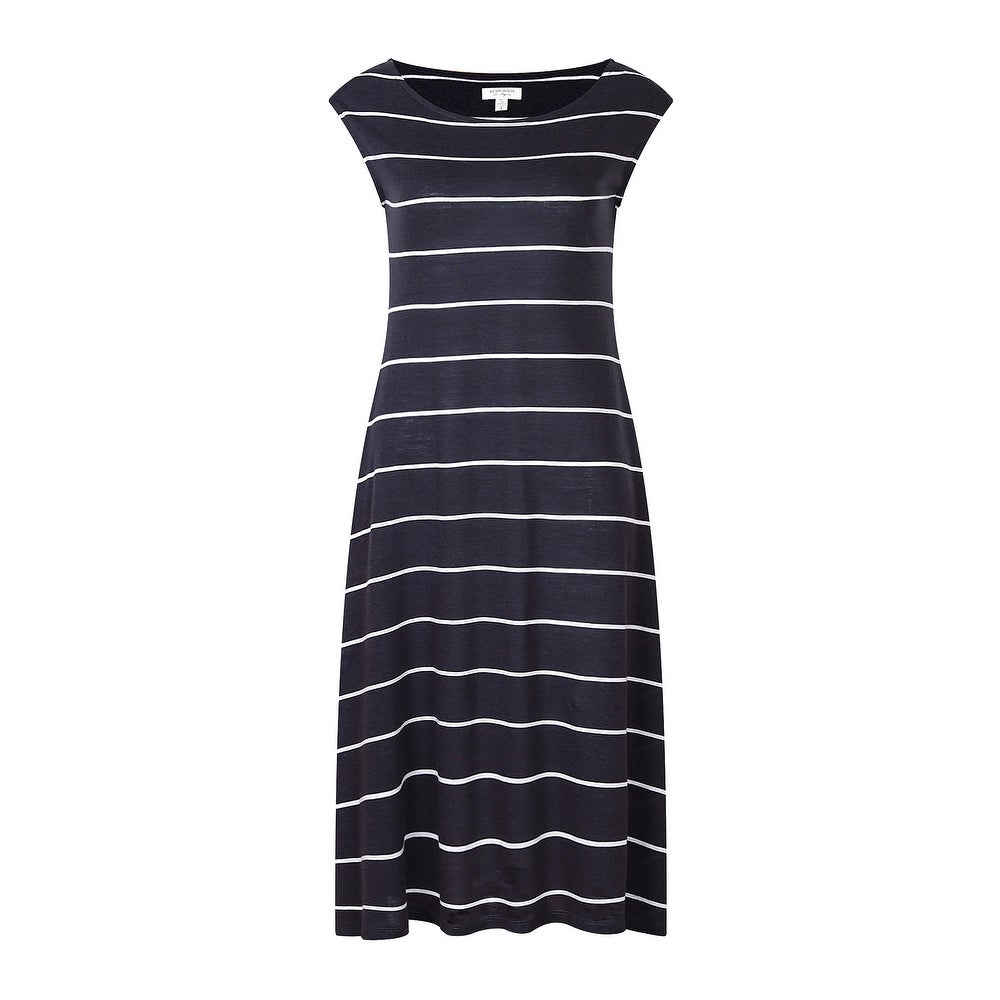 Richie House Womens Medium Style Striped Knit Dress