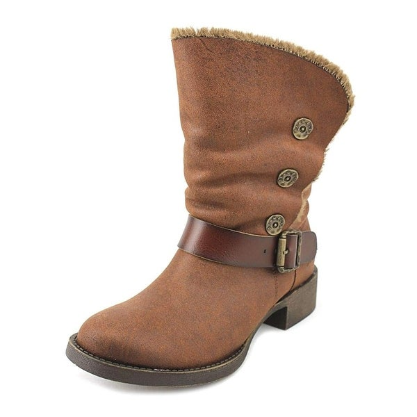 Blowfish Womens katti Fabric Almond Toe Ankle Fashion Boots