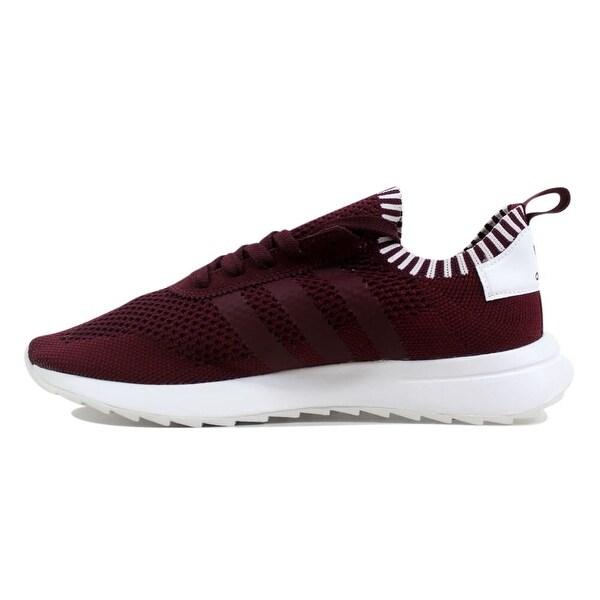 Shop Adidas Flashback W Primeknit MaroonMaroon White BY2795