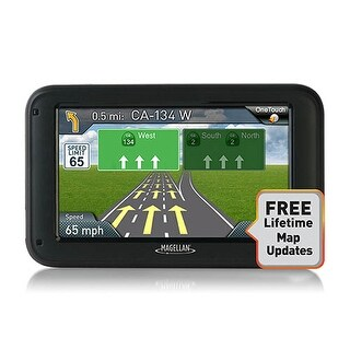 Magellan Roadmate 5375T-LMB Bluetooth Enabled Automotive GPS w/ Lifetime Maps & Traffic Updates