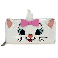 Loungefly Disney Aristocats Marie All Over Print Zip Around Wallet - One Size Fits most