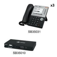 AT&T SB35010 + (3) SB35031 Syn248 by AT&T Business Telephones New !