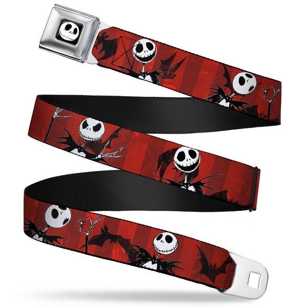 Jack Expression5 Fc Nightmare Before Christmas Jack Poses Bats Red Stripe Seatbelt Belt