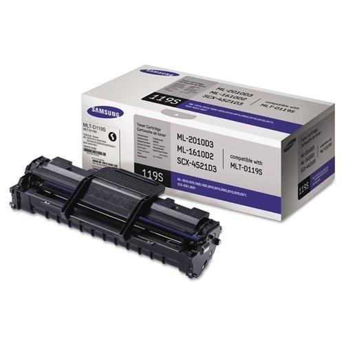"""Samsung MLT-D119S Black Toner Cartridge Toner Cartridge"""