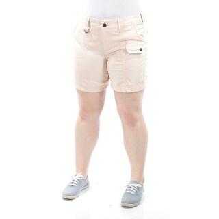 STYLE & COMPANY Womens New 1372 Beige Casual Short Plus 14 B+B