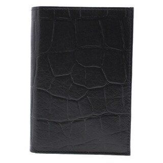 Access Denied Mens Textured Leather Bifold Wallet