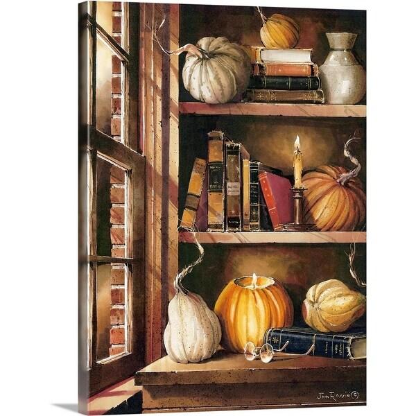 """Autumn Remnants"" Canvas Wall Art"