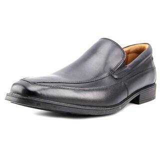 Clarks Narrative Tilden Free Men W Round Toe Leather Black Loafer