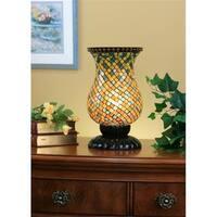 Legacy Lighting 1424AC-8AT Mosaic Stylish Accent Lamp- Gloss Black