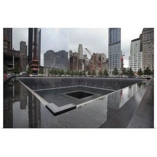 """Ground zero site in New York"" Poster Print"