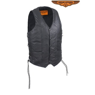 Mens Vest With Side Laces Size 36