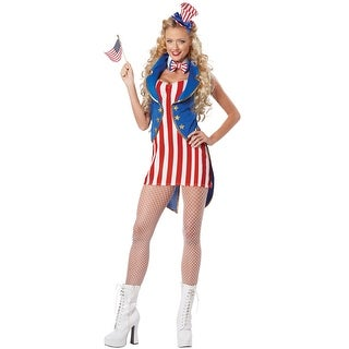 California Costumes Miss Independence Adult Costume - Red/White/Blue (5 options available)
