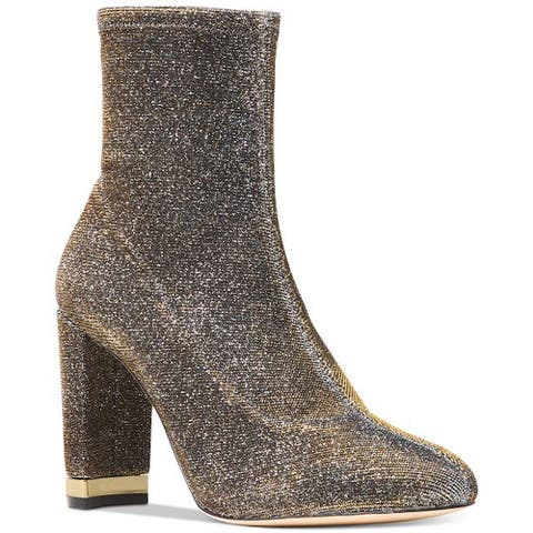 Michael Michael Kors Womens Mandy bootie Closed Toe Mid-Calf Fashion Boots