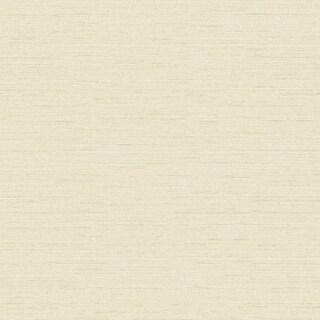 York Wallcoverings FD8425 Texture Portfolio Raised Linen Slub Wallpaper - N/A
