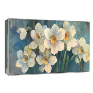 "PTM Images 9-153910  PTM Canvas Collection 8"" x 10"" - ""Time for Daffodils"" Giclee Flowers Art Print on Canvas"