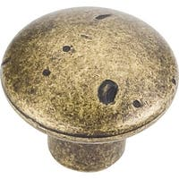 "Jeffrey Alexander MO6203 Belcastel 1-1/4"" Diameter Mushroom Cabinet Knob - N/A"
