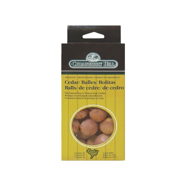 Cedarberry Hill 30Pk Cedar Scent Balls