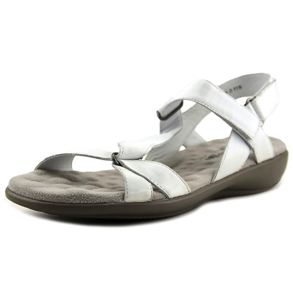Walking Cradles Score White Sandals