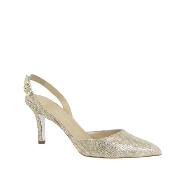 Ron White NEW Beige Women's Shoes Size 7M Casey Slingbacks Pump