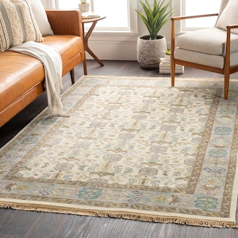 Hand-Knotted Amita Wool Area Rug - 8' x 11'