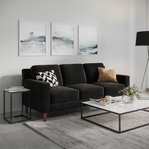 Avenue Greene Braylee Velvet 3-seat Sofa