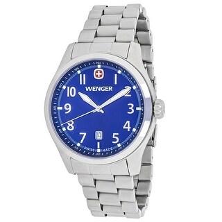 Wenger Men's Terragraph 01.0541.118 Blue Dial Watch