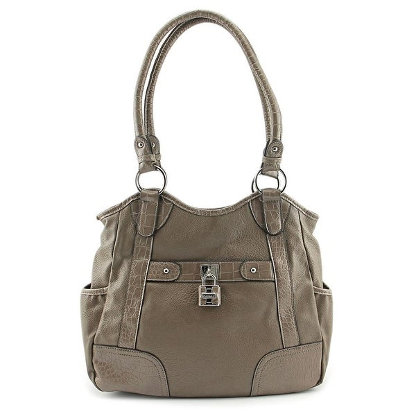 Rosetti Finders Keepers Four Poster Women Synthetic Shoulder Bag - gray