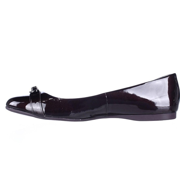 Coach Womens Oswald Leather Closed Toe Classic Pumps