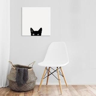 Easy Art Prints Jon Bertelli's 'Curiosity' Premium Canvas Art