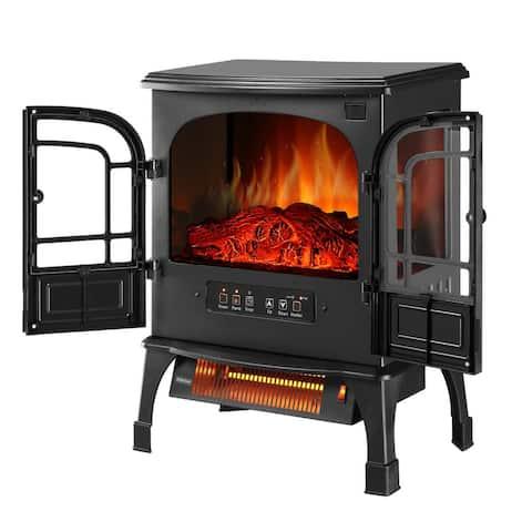 Zenova Electric Infrared Iron stove 1500 Watt Heater