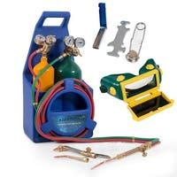 Arksen Professional Style Torch Kit, Oxygen & Acetylene Oxy w/ Tank, Blue