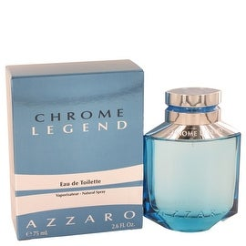 Chrome Legend by Azzaro Eau De Toilette Spray 2.6 oz - Men