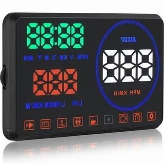 Pyle PHUD18OBD Vehicle Speed & Diagnostic Heads Up Display HUD Screen