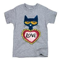 Pete The Cat Love-Youth Short Sleeve Tee