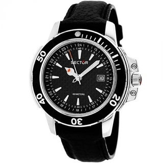 Link to Sector Men's 3251240125 'Series 240' Black Leather Watch Similar Items in Men's Watches