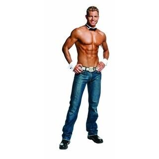 Male Dancer Stripper Collar & Cuffs Costume Kit Adult Standard
