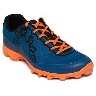 Icebug Men's Acceleritas5 RB9X Traction Running Shoe - cobalt/neon orange
