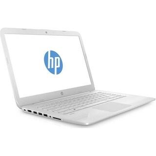 """Refurbished - HP 14-ax012ds 14"""" Laptop Intel Celeron N3060 1.60GHz 4GB 32GB eMMC W10"""