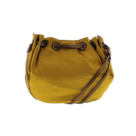 Diane Von Furstenberg Womens Shoulder Handbag Satin Chain - small