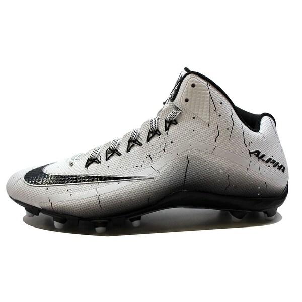Nike Men's Alpha Pro 2 3/4 TD White/Black-Black Football 719927-100