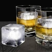 Glacier Ice Cube Molds, Set of 2