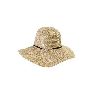 Bcbg Generation Beige Tan Crystal Floppy Hat OS