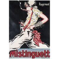''Mistinguett'' by Rougemont Vintage Advertising Art Print (43.75 x 32 in.)